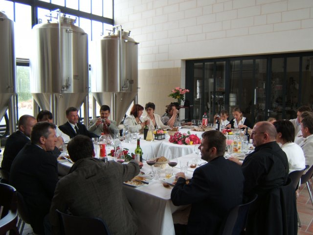Photos sans flash du restaurant la table de bellefois n 1 titre salle de brassage for Restaurant la table de francois troyes